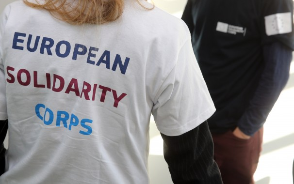 European Solidarity Corps. Photo: European Commission Audiovisual Service